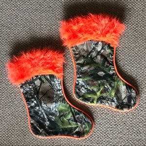 Set of 2 Camouflage stockings
